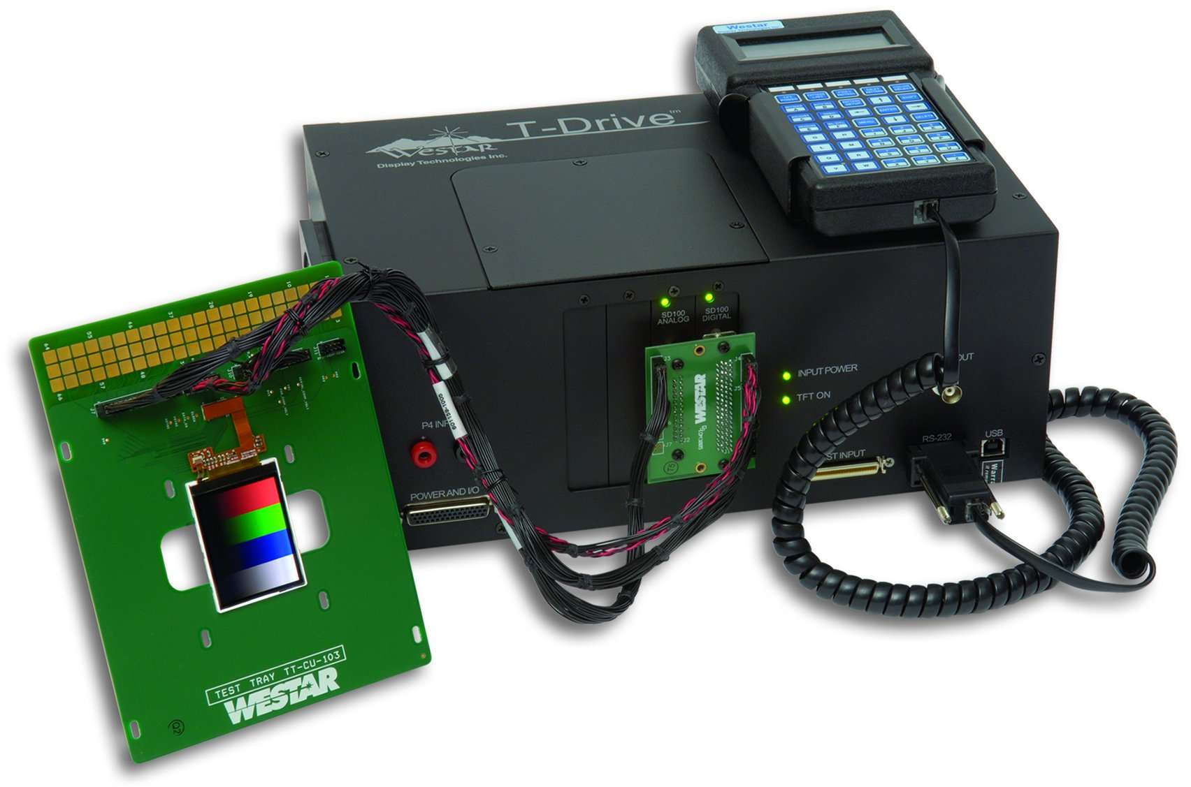 Mobile LCD Tester - T-Drive SD100
