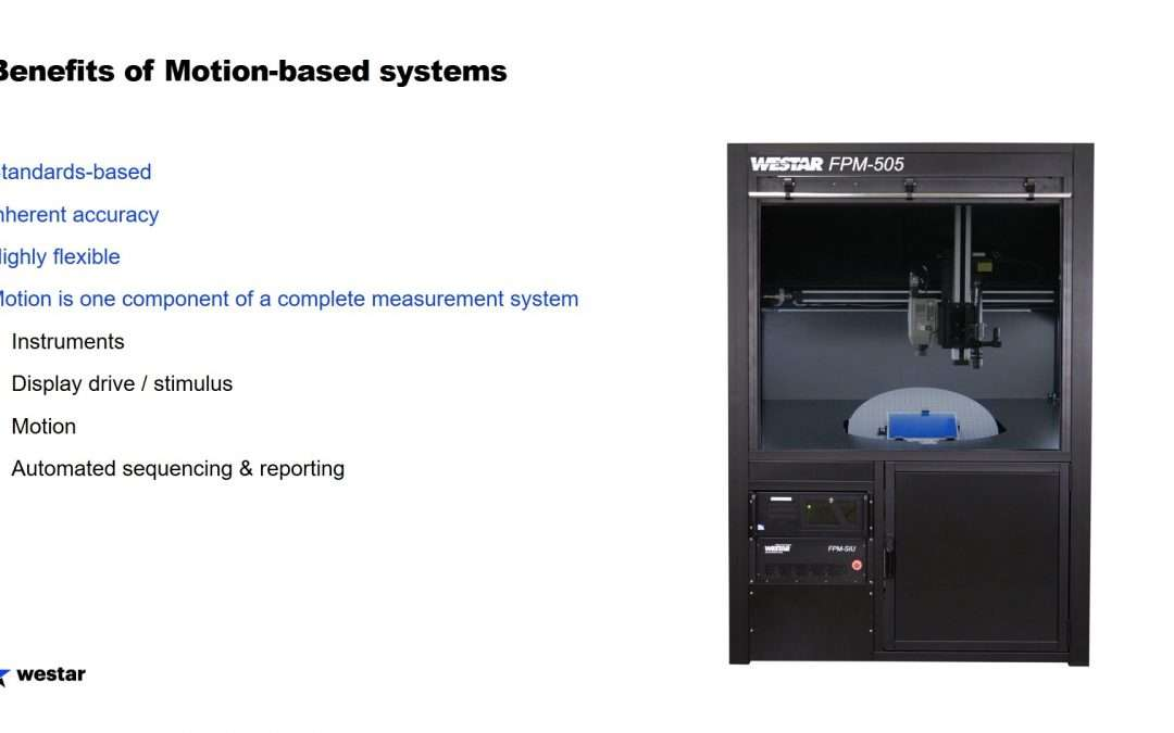 Are motion-based test systems still relevant?