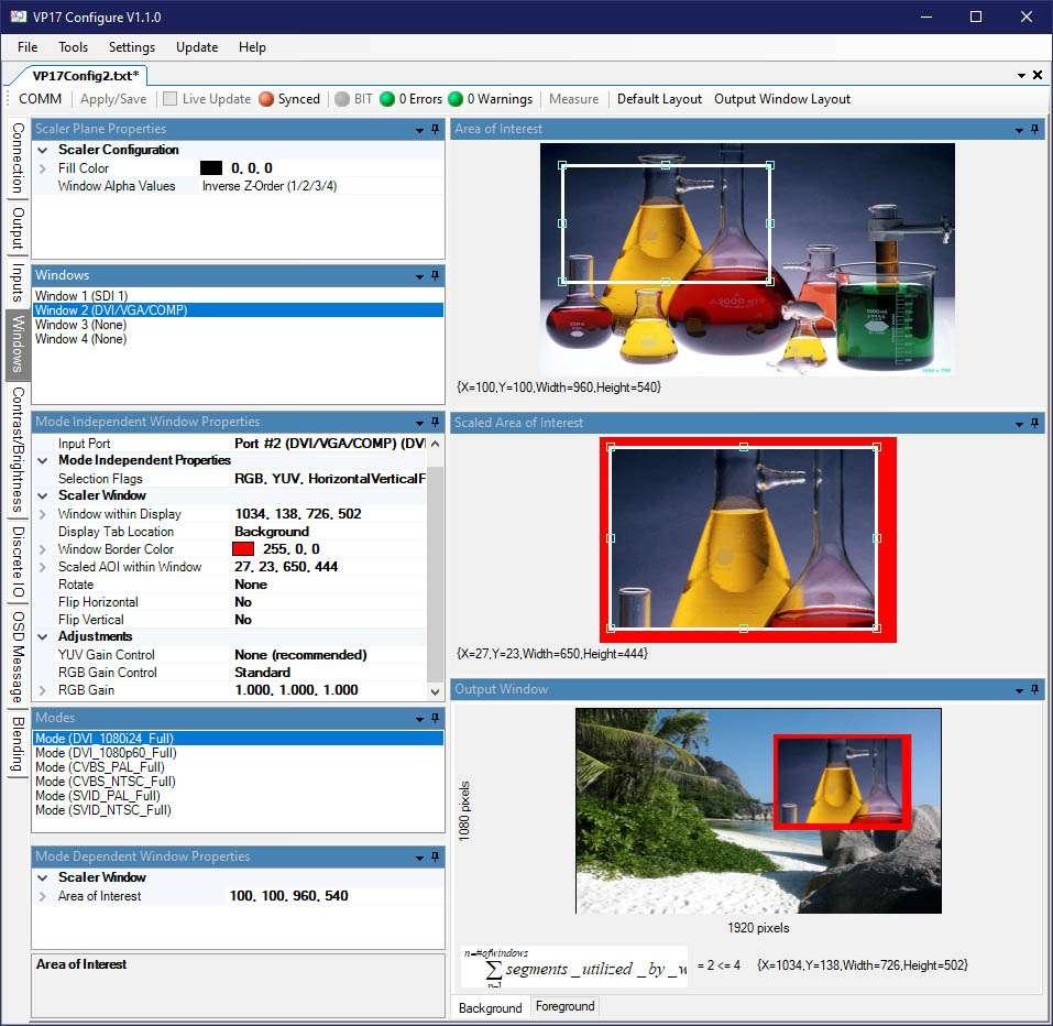 Configuration Software - VP17