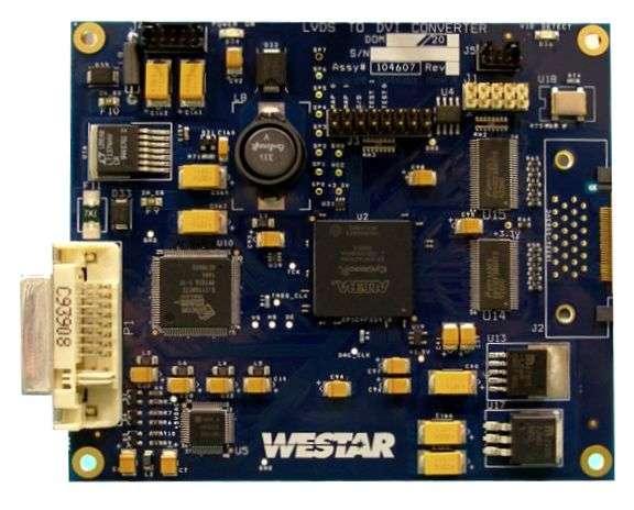 LVDS to DVI Converter Board | Westar Display Technologies